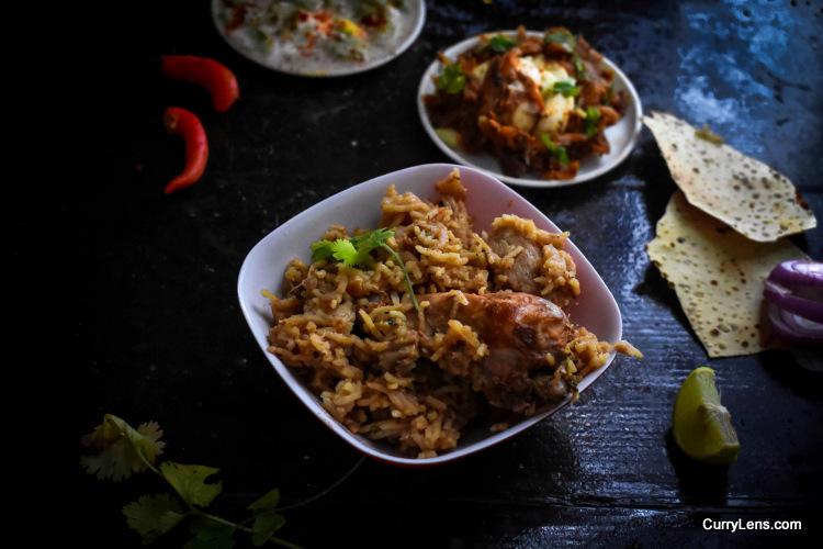 quick chicken biryani recipe
