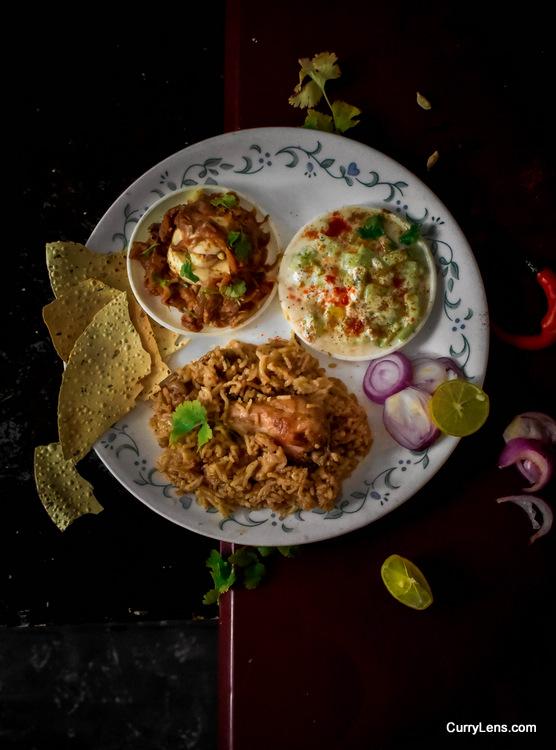 easy and quick chicken biryani