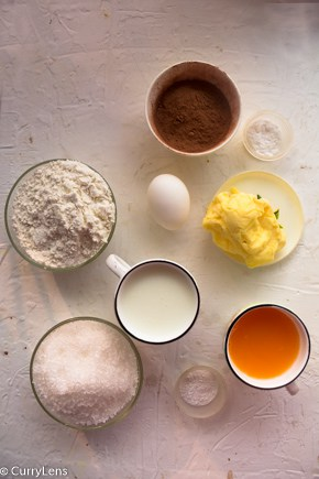 ingredients for moist orange cake